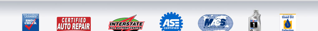 Ramona Motor Works Certifications